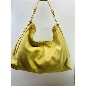 Sigrid Olsen Butternut Yellow HOBO Shoulder Bag
